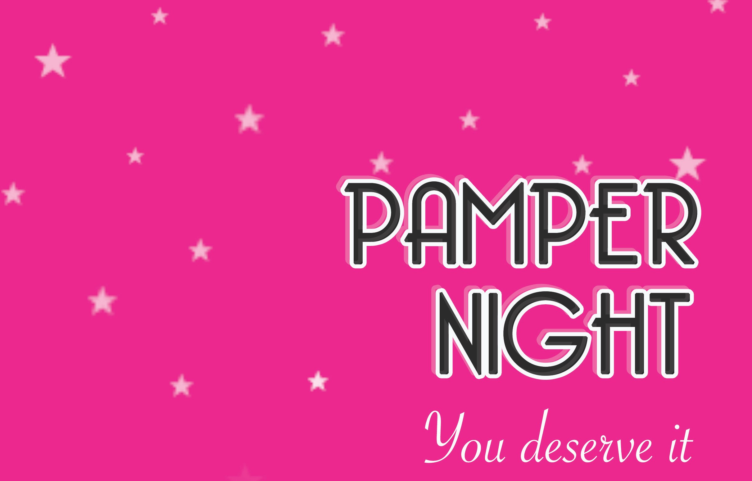 Image result for pamper night