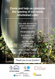 Cafe invitation