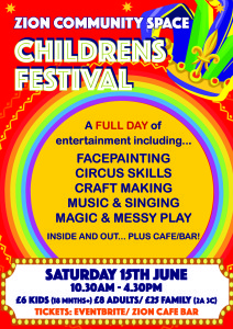Childrens Festival Poster